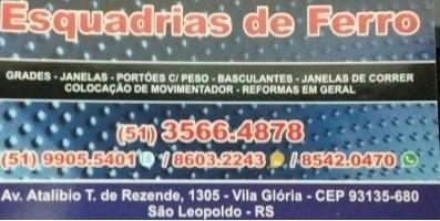 Tchê Encontrei - Esquadrias de Ferro Carlos (Meleca)