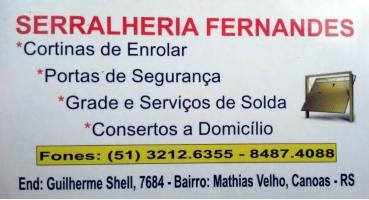 Tchê Encontrei - Serralheria Fernandes – Serralheria em Canoas