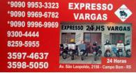 Tchê Encontrei - Expresso Vargas – Motoboy em Campo Bom