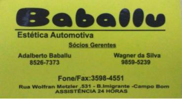 Tchê Encontrei - Baballu Estética Automotiva – Estética Automotiva em Campo Bom