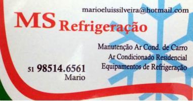 Tchê Encontrei - MS Refrigeração – Refrigeração em Esteio