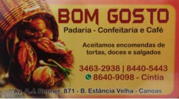 Tchê Encontrei - Padaria e Confeitaria Bom Gosto – Padaria e Confeitaria em Canoas