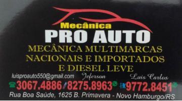 Tchê Encontrei - Mecânica Pro Auto – Mecânica em Novo Hamburgo