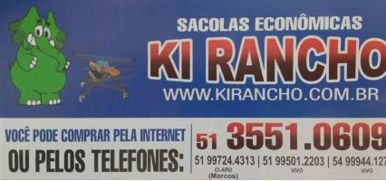 Tchê Encontrei - Sacolas Econômicas Ki Rancho – Sacolas Econômicas em Estância Velha