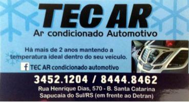 Tchê Encontrei - Ar Condicionado Automotivo Tec Ar – Ar Condicionado Automotivo em Sapucaia do Sul
