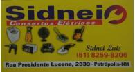 Tchê Encontrei - Sidnei Consertos Elétricos – Consertos Elétricos em Novo Hamburgo