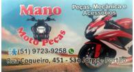 Tchê Encontrei - Mano Moto Peças – Moto Peças em Portão