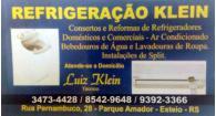 Tchê Encontrei - Refrigeração Klein – Refrigeração e Esteio
