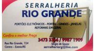 Tchê Encontrei - Serralheria Rio Grande – Serralheria em Esteio