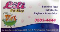 Tchê Encontrei - Lili Pet Shop – Pet Shop em Sapucaia do Sul