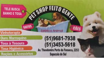 Tchê Encontrei - Pet Shop Feito Gente – Pet Shop em Sapucaia do Sul