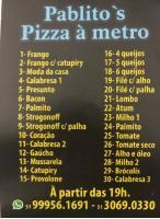 Tchê Encontrei - Pizzaria Pablito's Pizza à Metro – Pizzaria Estância Velha