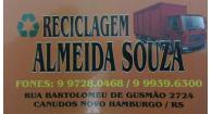Tchê Encontrei - Reciclagem de Almeida Souza – Reciclagem em Novo Hamburgo
