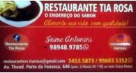 Tchê Encontrei - Restaurante Tia Rosa – Restaurante em Sapucaia do Sul