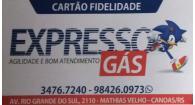 Tchê Encontrei - Expresso Gás – Gás em Canoas