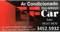 Tchê Encontrei - EF Car Ar Condicionado – Ar Condicionado em Sapucaia do Sul