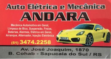 Tchê Encontrei - Auto Elétrica e Mecânica Andara – Auto Elétrica e Mecânica em Sapucaia do Sul