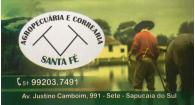 Tchê Encontrei - Agropecuária e Correaria Santa Fé – Agropecuária em Sapucaia do Sul