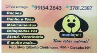 Tchê Encontrei - Maniapet Pet Shop – Pet Shop em Novo Hamburgo