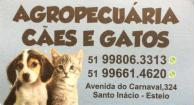 Tchê Encontrei - Agropecuária Cães e Gatos – Agropecuária em Esteio