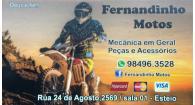 Tchê Encontrei - Fernandinho Motos Mecânica – Mecânica em Esteio