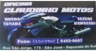 Tchê Encontrei - Oficina Claudinho Motos – Oficina de Motos em Sapucaia do Sul