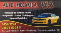 Tchê Encontrei - W.A Auto Mecânica – Auto Mecânica em Sapucaia