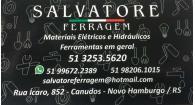 Tchê Encontrei - Salvatore Ferragem –  Ferragem em Novo Hamburgo