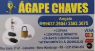 Tchê Encontrei - Ágape Chaves – Chaveiro em Novo Hamburgo