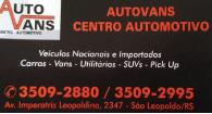 Tchê Encontrei - AutoVans Centro Automotivo – Centro Automotivo em São Leopoldo