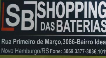 Tchê Encontrei - SB shopping das Baterias – Baterias em Novo Hamburgo
